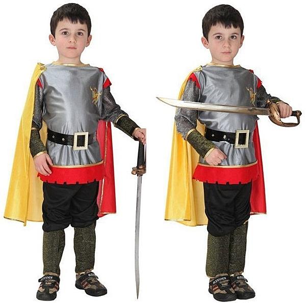羅馬武士王子裝扮服 兒童造型服 聖誕舞會派對裝表演灰姑娘公主美國隊長盾牌兒童變裝服