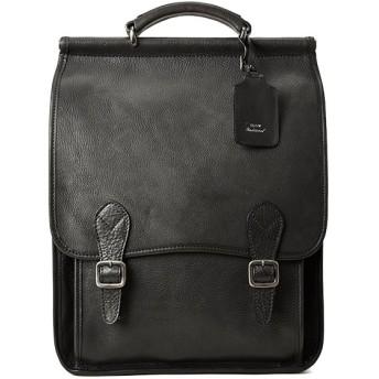 カバンのセレクション スロウ トラディショナル ボーノ リュック メンズ ビジネス 本革 A4 SLOW Traditional bono 415st02f ユニセックス ブラック フリー 【Bag & Luggage SELECTION】