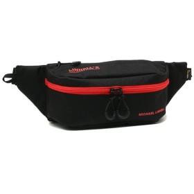 マイケルリンネル バッグ MICHAEL LINNELL MLCD-700 コーデュラ メンズ レディース ボディバッグ・ウエストポーチ BLACK/RED 黒