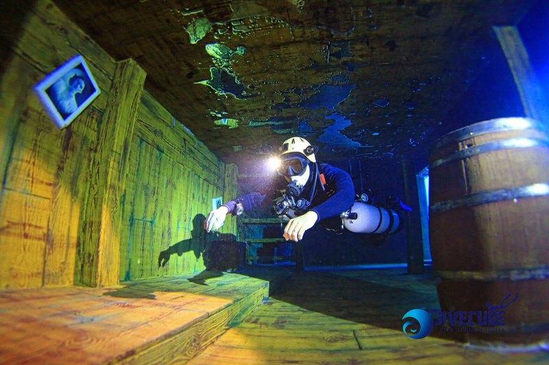 亞洲第一潛水旅館 – 台中潛立方室內潛水體驗