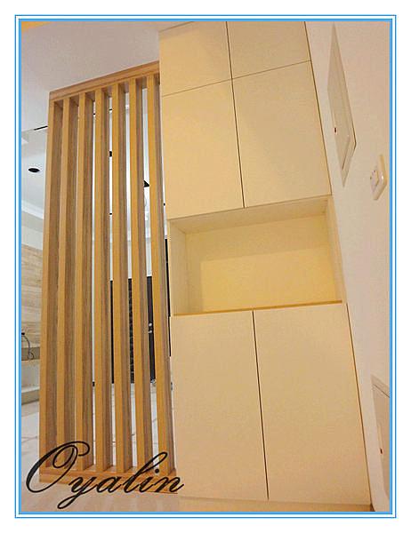 【歐雅 系統家具 】玄關鞋櫃搭配隔柵