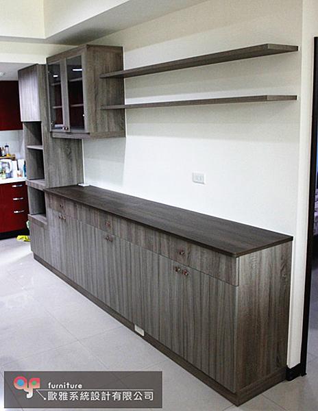 【歐雅 系統家具 】餐邊櫃