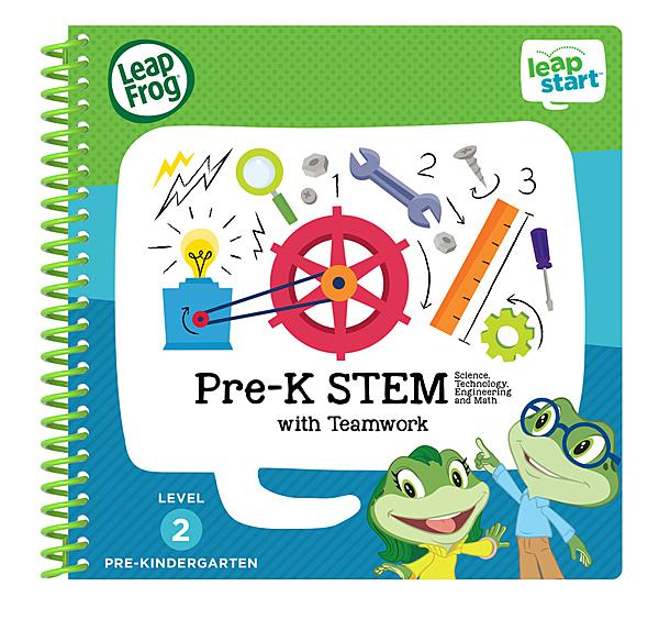 美國 LeapFrog跳跳蛙 LeapStart Jr. Books幼兒5-科學與自然