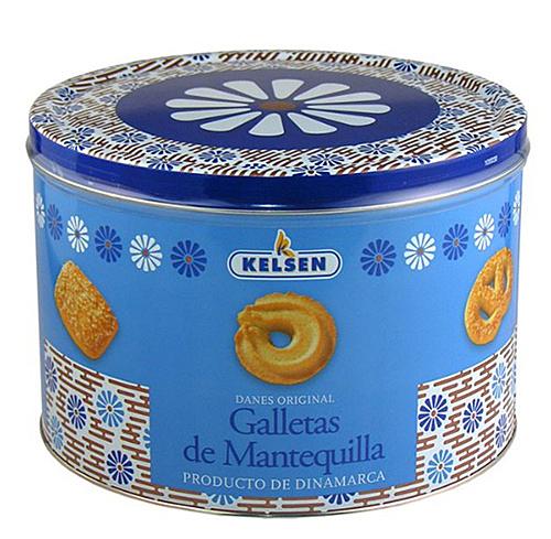 丹麥奶酥餅乾花漾版 908公克