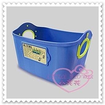♥小花花日本精品♥Hello Kitty Disney迪士尼三眼怪藍色造型提把方形置物籃收納籃2.5L日本製(預購)
