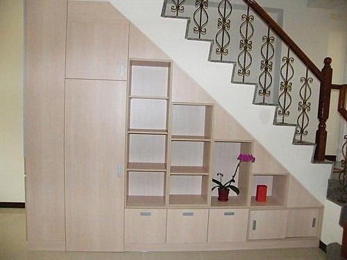 【歐雅 系統家具 】樓梯下櫃