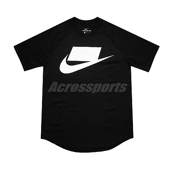 Nike 短袖T恤 NSW Tee 黑 白 男款 運動休閒 【ACS】 BV7596-011