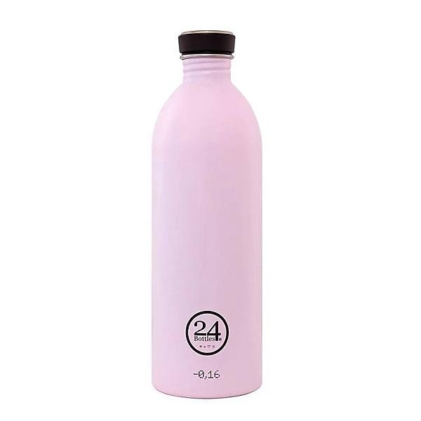 【24Bottles】城市水瓶 1000ml - 糖果粉 水瓶 不鏽鋼 好攜帶 好清洗