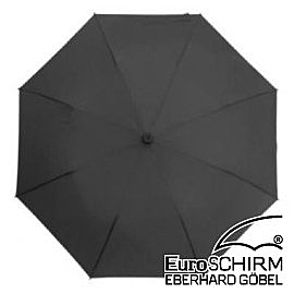 EuroSCHIRM 行走免提徒步傘 大(黑) W2H69120 輕量 健行