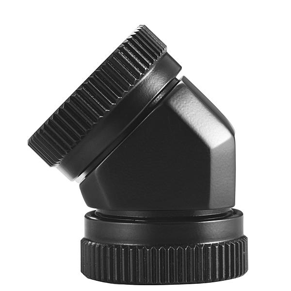 Phanteks 追風者 PH-A45_BK16 G1/4 16mm硬管對硬管45度旋轉接頭 – 黑色