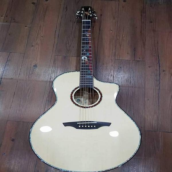 凱傑樂器 Abraham Joshua 全單板 貓頭鷹(仲夏) 鑲嵌指板 木吉他