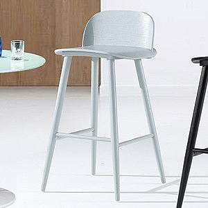 【YFS】蜜妮安吧台椅-45x53x92cm(三色可選)灰色