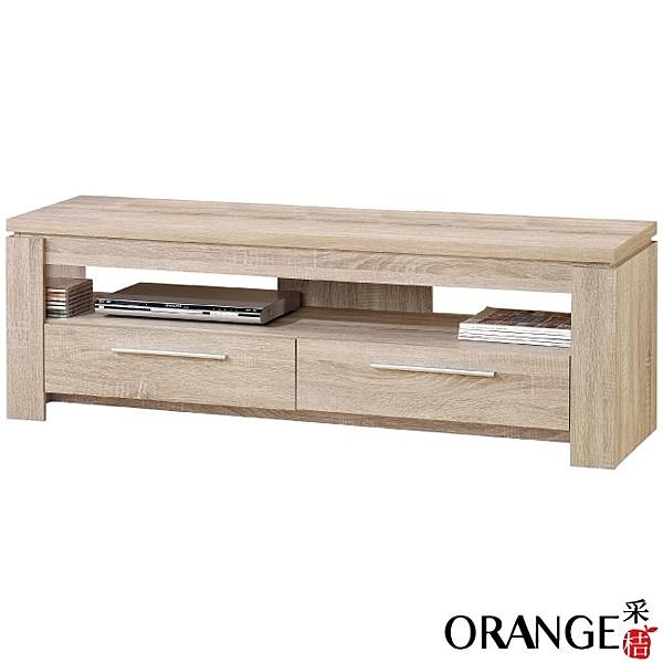 【采桔家居】歐卡頓   時尚5尺木紋電視櫃/視聽櫃(二色可選)