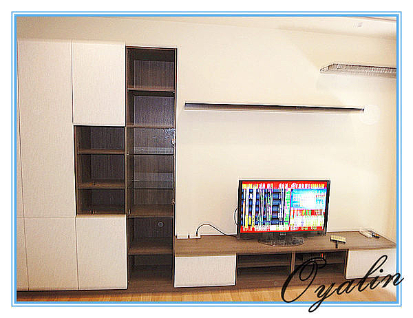 【歐雅 系統家具 】衣帽櫃結合鞋櫃搭配電視櫃