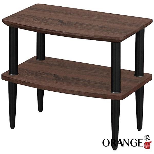 【采桔家居】開羅 現代風1.6尺二層置物架/玄關桌