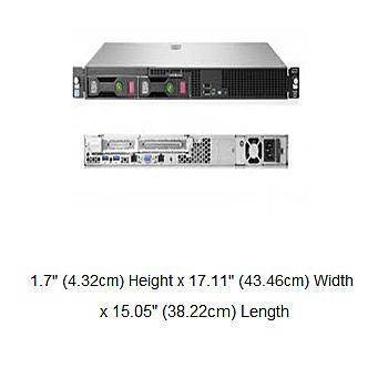 HPE DL20 Gen10 3.5吋非熱抽伺服器(P06961-B21)【Intel Xeon E-2236 / 8G記憶體*1 / NO HDD / 內建S100i / DVD】