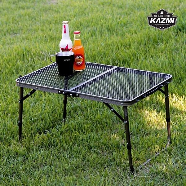 [KAZMI] 迷你鋼網折疊桌 (K7T3U011) 秀山莊戶外用品旗艦店
