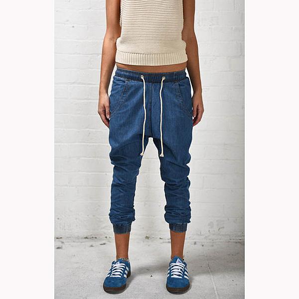 OneTeaspoon 牛仔褲 TRACKIES -藍 (女)