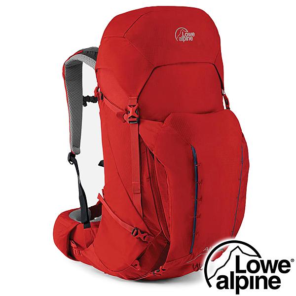 【英國 LOWE ALPINE】Altus 42:47 輕量健行登山背包42+5L『氧化鉛紅』FMQ-11 登山.露營.戶外.後背包