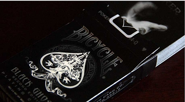 【USPCC撲克】BICYCLE 808 GHOST 黑鬼紀念牌 performance coating 撲克牌