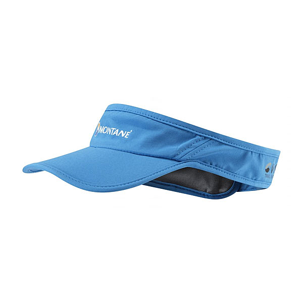 [MONTANE] VIA 輕量野跑遮陽帽UV 霧藍 (HVIVI-BLU)
