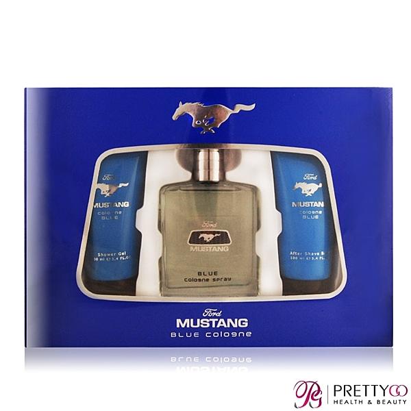 FORD MUSTANG 福特野馬 藍調男性淡香水禮盒-公司貨【美麗購】
