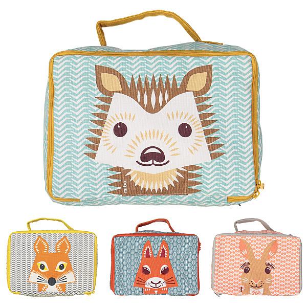 法國 COQENPATE 方方包/手提包/兒童包包/午餐袋 (4款可選)