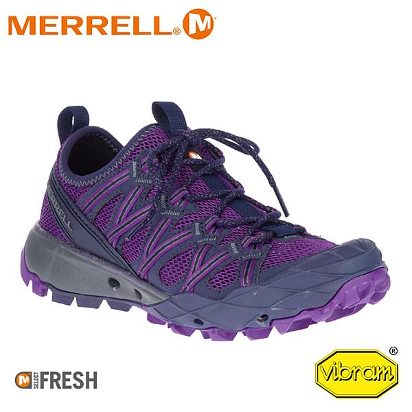【MERRELL 美國 女 CHOPROCK多功能健行鞋《深紫》】ML99934/水陸兩棲/慢跑鞋/休閒鞋/登山鞋