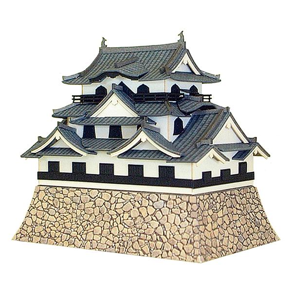 1/300 彦根城   /SANKEI/風景/紙模型/立體紙雕