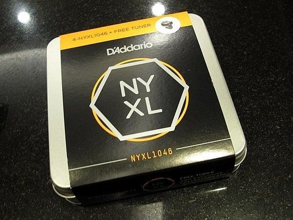 ☆ 唐尼樂器︵☆美國製原廠公司貨 DAddario NYXL 1046 四包裝 加贈 CT-12 調音器 電吉他弦