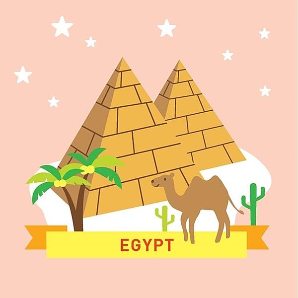 LOVIN 超萌韓版數字油畫 城市系列 埃及(4) 1幅