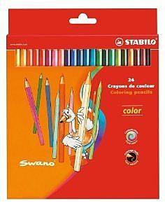 STABILO color 系列水六角形24色色鉛筆*1924-77-01