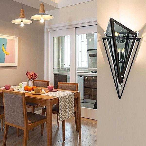 玻璃立方壁燈(OTJIC-00088/OTJIC-00089)【DD House】