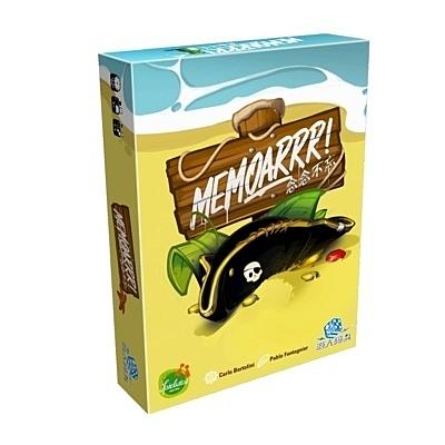 『高雄龐奇桌遊』 念念不忘 MemoARRR 繁體中文版 正版桌上遊戲專賣店