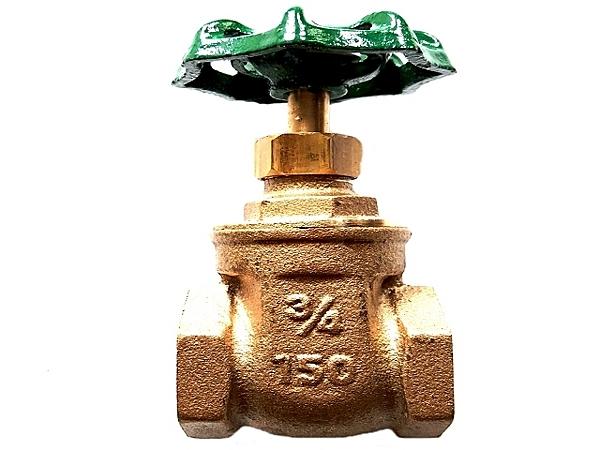 銅製凡爾四分雙內牙(1/2吋水管開關接頭)