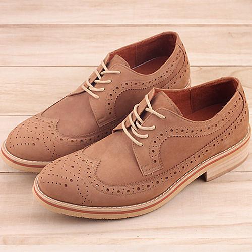 歐美時尚牛津雕花木跟MIT手工 牛津鞋 紳士鞋 尖頭鞋 59鞋廊