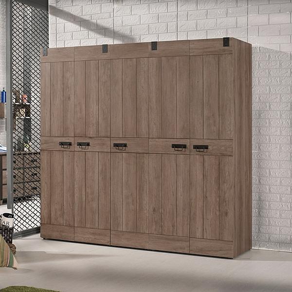 OB003-哈珀6.7尺組合衣櫥組(19CM/552-1)【DD House】
