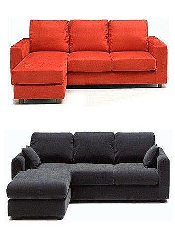 【歐雅系統家具】L型麂皮絨布沙發 貴妃椅or3人座+腳椅 工廠直營 台中市免運費