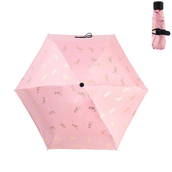PUSH!居家生活用品太陽傘防曬防紫外線雨傘遮陽傘晴雨傘手動款I83