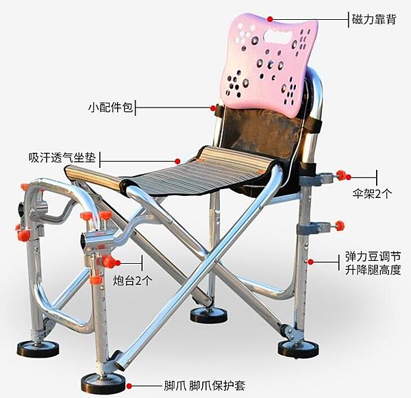 釣魚椅釣椅多功能
