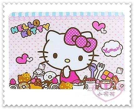 ♥小花花日本精品♥Hello Kitty 隔熱餐墊坐姿甜點甜甜圈愛心叉子蝴蝶結點點愛心韓國製00101608
