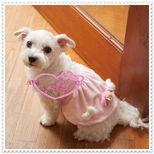 小花花日本精品♥ 美樂蒂 寵物洋裝 狗狗衣服 狗狗裙 寵物裙 粉色大臉1或2號選1 45802300