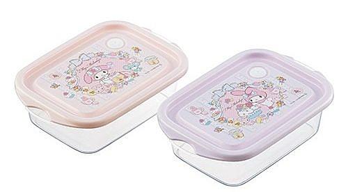 美樂蒂 保鮮盒 日本製 2入 奶爸商城 271748