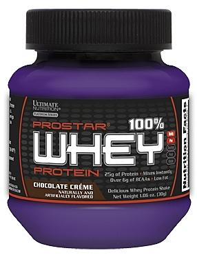 【線上體育】 ULTIMATE NUTRITION 馬力偉乳清蛋白摩卡可可 30G 單份包