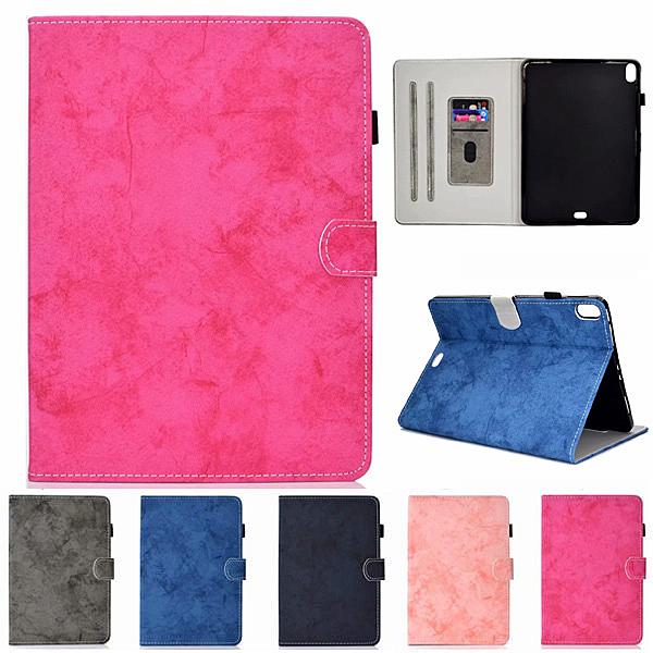 蘋果 iPad Pro 11 2018 Pro 10.5 絨布車線皮套 平板皮套 插卡 支架 平板保護套