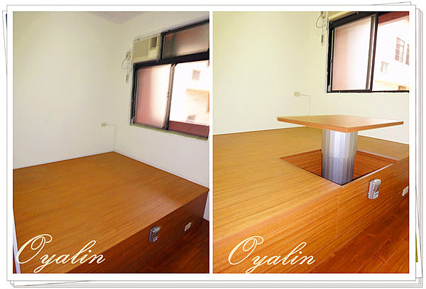 【歐雅系統家具】系統櫃 系統上掀和室收納~搭配自動升降桌 EGGER E1-V313防潮塑合板 客製化訂做