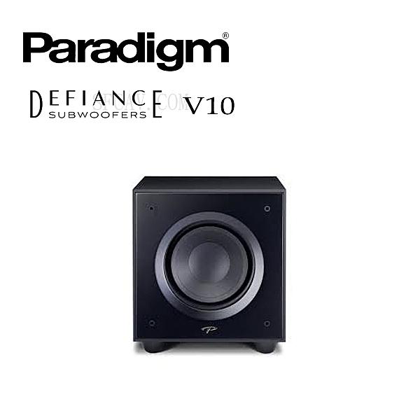 """【竹北勝豐群音響】Paradigm Defiance V10  主動式超低音喇叭 10"""" 低音單體"""
