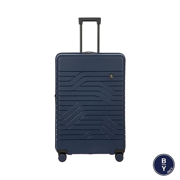 BRIC'S B|Y Ulisse 拉鍊擴充拉桿箱 PP材質 行李箱/旅行箱-31吋(深藍) B1Y084