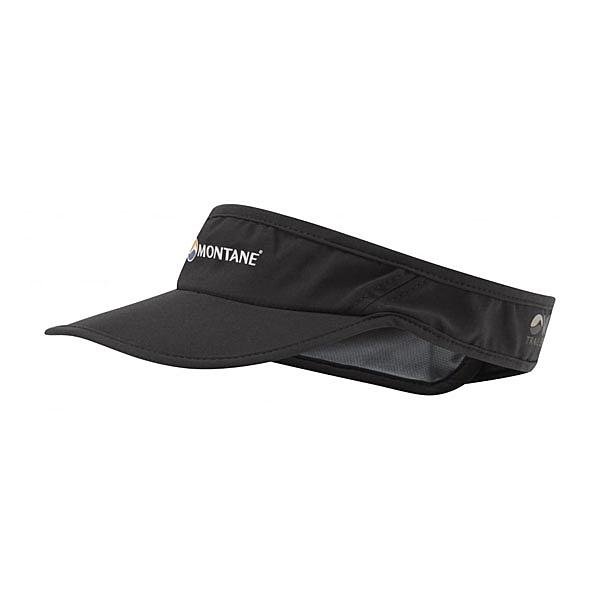 [MONTANE] VIA 輕量野跑遮陽帽UV 黑 (HVIVI-BLA)
