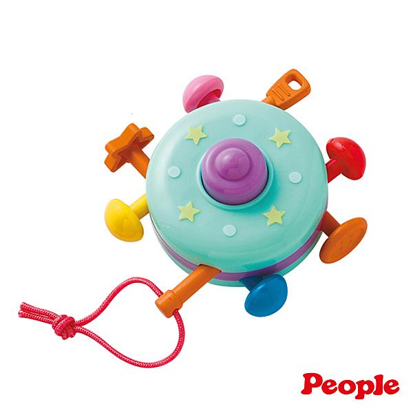 People 彩色飛碟/安撫玩具/抓握玩具